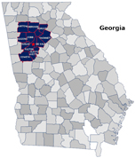 Across Town Courier Services in Georgia